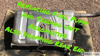 Download 82-92 Camaro Fuel Tank and Rear End Removal Video