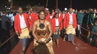 Download Body blow to Tonga's Government at Commonwealth Games opening ceremony Video