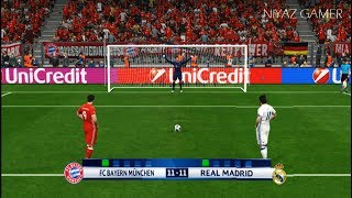 Download BAYERN MUNICH vs REAL MADRID | Penalty Shootout | PES 2017 Gameplay | UEFA Champions League Video