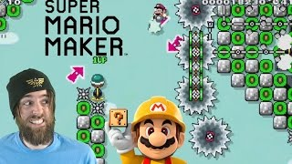 Download Extreme Air-kick Mario | Nearly Impossible Levels - Super Mario Maker Video