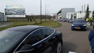 Download Wereldrecord met 746 elektrische auto's tussen Helmond en Eindhoven gehaald Video