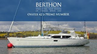 Download Oyster 42 (PRIME NUMBER) - Yacht for Sale - Berthon International Yacht Brokers Video
