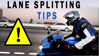 Download Motorcycle Q&A: How to lane splitting or whiteline ″safely″! Bike: Kawasaki ZX6R Video