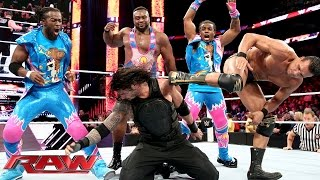 Download Roman Reigns competes in a ″One vs. All″ Match: Raw, January 11, 2016 Video