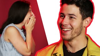 Download Surprise Staring Contest With Nick Jonas Video