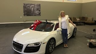 Download I Surprised My Mom With An Audi R8 Video