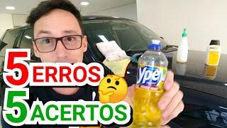 Download 5 Erros na hora de lavar seu carro Video