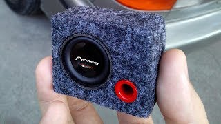 Download Amazing Mini Subwoofer Box Video