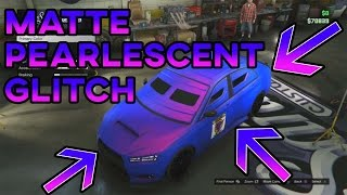 Download GTA 5 ″PAINT JOBS″ Matte Pearlescent Glitch (EASY SOLO METHOD) RARE GTA PAINT JOBS Video
