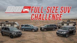 Download Comparison Test: 2018 Full Size SUVs Video