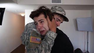 Download SOLDIER SURPRISES BEST FRIEND!! Video
