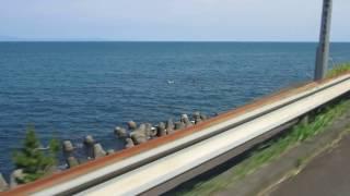 Download 静岡用宗から(大崩海岸)道路開通でホンダCB1100で走って見た。 Video