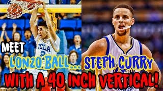 Download Meet Lonzo Ball: Steph Curry With A 40 INCH VERTICAL! Video