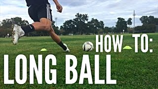 Download How to Hit a Long Ball in Soccer/Football Video