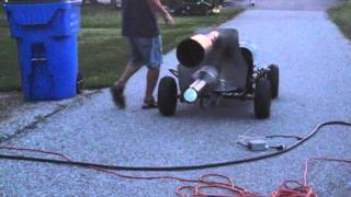 Download pulse jet engine go kart record run 2 passes Video