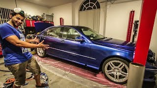 Download I Plastidipped My Cheap Mercedes S-Class And It Looks Awesome! - Project Mercedes-Benz S-Class Pt 18 Video
