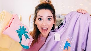 Download Spring Clothing Haul | Zoella Video