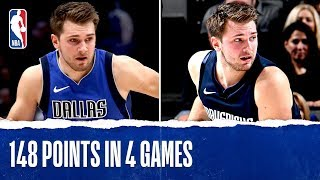 Download Luka Doncic FULL Highlights - 148 PTS in 4 Games!! Video
