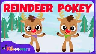 Download Reindeer Pokey   Christmas Songs for Kids   Reindeer Song   The Kiboomers Video