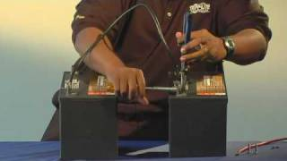 Download How to: Increase battery amp/hours - connecting inverter batteries in parallel - Tripp Lite tutorial Video
