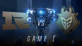Download RNG vs G2 | Quarterfinal Game 1 | World Championship | Royal Never Give Up vs G2 Esports (2018) Video