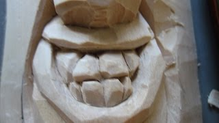 Download WOODCARVING THE TOOTHY SMILE Video