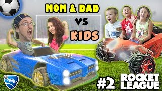 Download Let's Play Rocket League! PARENTS vs. KIDS - Match #2 (FGTEEV Family Gameplay) Video