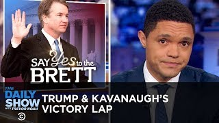 Download Trump Takes a Victory Lap After Kavanaugh Is Sworn In | The Daily Show Video