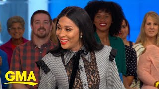Download Mj Rodriguez celebrates Pride Month on 'GMA' l GMA Video