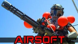 Download Airsoft Minigun Juggernaut Video