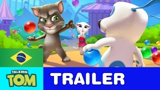 Download Talking Tom Bubble Shooter - Trailer Oficial Video