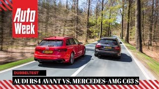 Download Audi RS4 Avant vs. Mercedes-AMG C63 S Estate - AutoWeek Dubbeltest - English subtitles Video