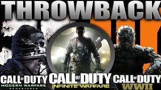 Download THROWBACK COD 😈 BO3, COD WWII, GHOSTS, MWR, and INFINITE WARFARE | Classic Call of Duty Video