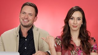 Download Troian Bellisario And Patrick J. Adams Take The Relationship Test Video