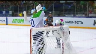 Download Coolest Russian ice hockey goalie ever Video