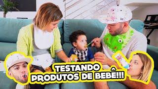 Download ADULTOS TESTANDO PRODUTOS DE BEBÊ!! (ft. Um Bebê) Video