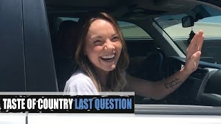 Download Danielle Bradbery's First Kiss, Fave Late Night Snack + More! - Last Question Video