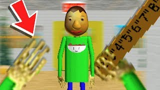 Download PLAY as BALDI! A CRAZY ENDING - Baldi's Basics in Education and Learning Update (3 Random Games) Video