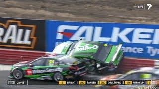 Download Supercars - Tickford Racing Crashes (FPR/Pepsi Max Crew) Video