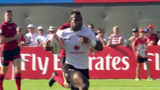 Download INSANE footwork from Fiji's Jerry Tuwai! Video