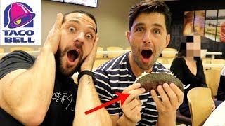 Download TRYING SECRET MENU ITEMS AT TACO BELL HEADQUARTERS! Video