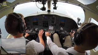 Download Lufthansa Cadet IMPRESSES instructor during Citation Jet Airwork Session!!! [AirClips] Video