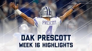 Download Dak Prescott 3 TD Night! | Lions vs. Cowboys | NFL Week 16 Player Highlights Video
