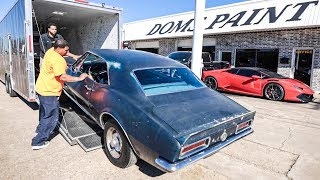 Download Restoring My ALL ORIGINAL 1967 Camaro Ep. 2 - Dropping off for Paint & Body Video