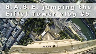Download B.A.S.E. jumping the Eiffel Tower vlog#5 Video