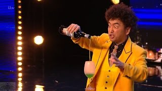 Download Britain's Got Talent 2017 Tanba The Japanese Danger Magician Amazes Simon Full Audition S11E06 Video