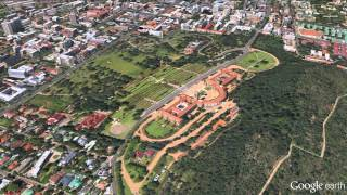 Download Google Earth/Digital Globe Union Buildings in Pretoria, South Africa Video