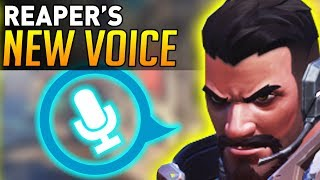 Download Overwatch | Reaper's NEW VOICE ACTING! (Replaced ALL Voice Lines!) Video