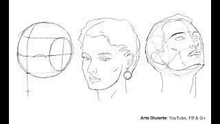 Download Cómo dibujar un rostro desde cualquier ángulo - Método de Andrew Loomis Video