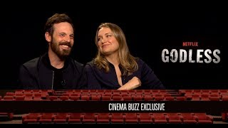 Download Scoot McNairy & Merritt Wever Interview for ″Godless″ Video